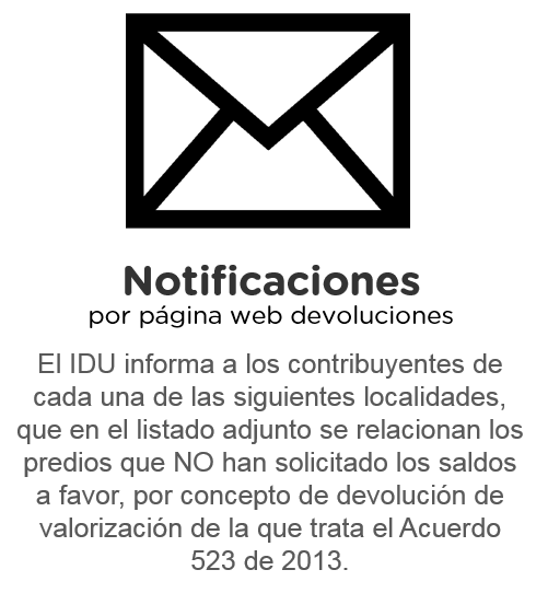 Notificaciones por Pagina Web